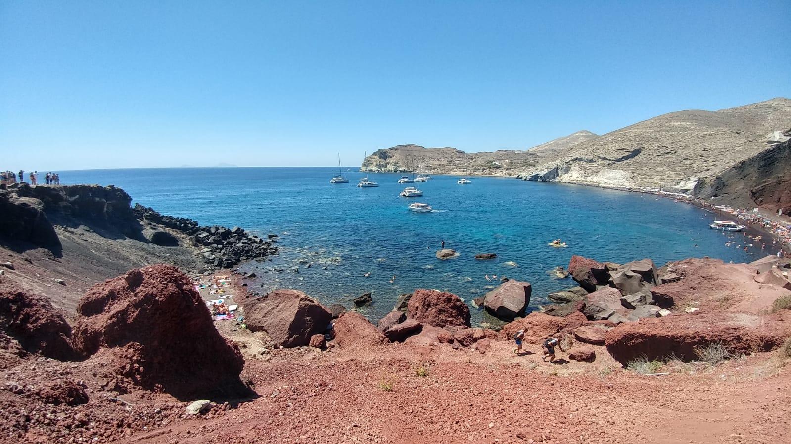 Playa de Santorini