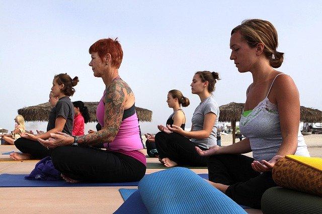 yoga grupal