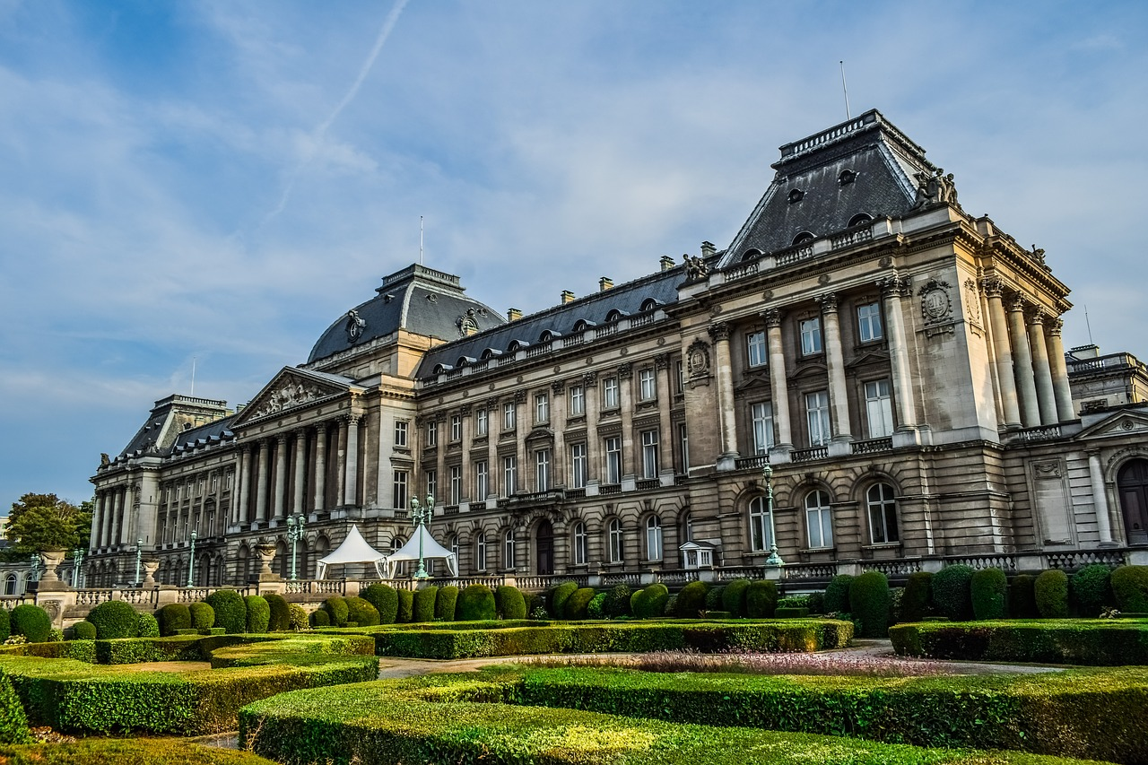 Palacio Real, Bruselas