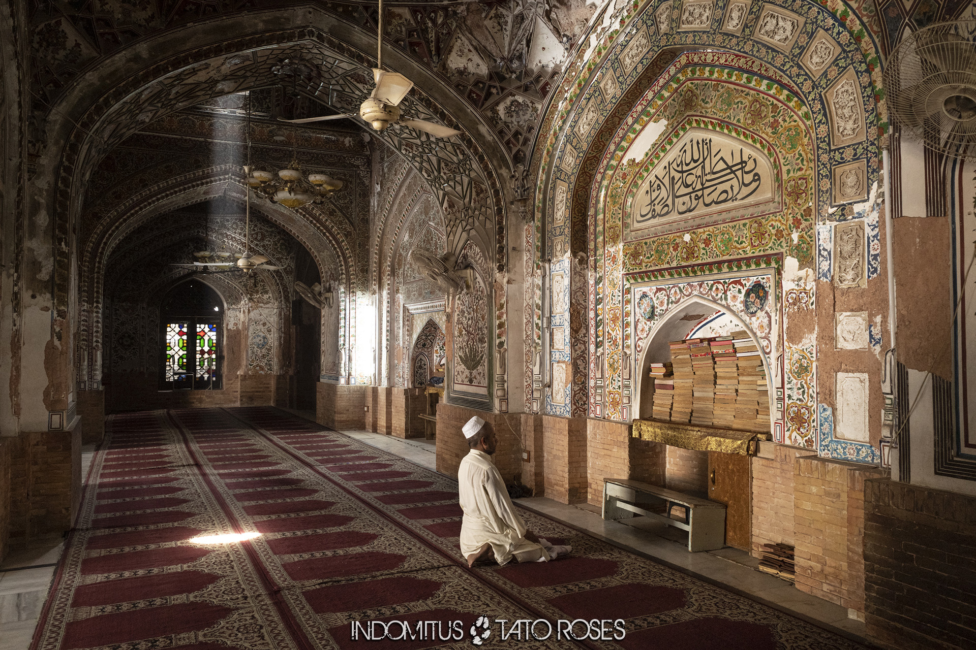 Pakistán Mezquita Mahabat Khan, Peshawar